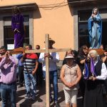 Realizan viacrucis en el Centro Histórico