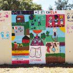 Promueven estudiantes valores democráticos en 68 murales
