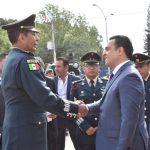 Luis Nava encabeza CLII Aniversario del Hecho Histórico del Soldado Damián Carmona
