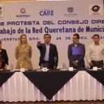 Luis Nava tomó protesta como Presidente de la Red de Municipios por la Salud