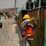 Regularizan servicio eléctrico en 130 viviendas de El Rosario y El Durazno