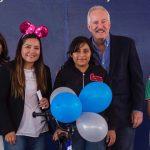 Enrique Vega Carriles festejó el Día de las Niñas y los Niños en La Cañada