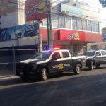 Movilización por robo en Plazas del Sol