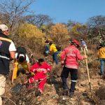Culminan trabajos para sofocar incendio en la zona norte de El Marqués