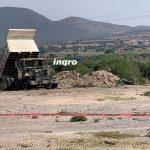 Chofer de camión materialista muere electrocutado en Tierra Blanca