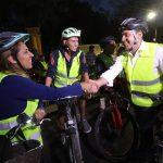 Acompaña Luís Nava a Saca la Bici en su festejo por 10 años