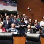 Grupo Parlamentario del PAN celebra aprobación de Guardia Nacional 100% civil