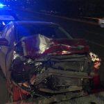 Carambola en el Junípero Serra deja dos motociclistas lesionados