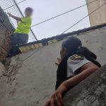 SSPMQ resguarda a niño que se encontraba en situación de riesgo