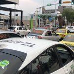 Se manifiestan taxistas por incremento de violencia contra su gremio
