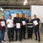 Policías de El Marqués se certifican en primeros auxilios