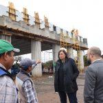 Al 50% avance construcción del puente vehicular en Ezequiel Montes