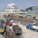 Gran avance en construcción de estacionamiento en el Gómez Morín