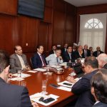 Gobernador expone potencial de Alianza Centro Occidente al jefe de la Oficina de la Presidencia
