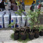 Entrega Municipio de Querétaro impermeabilizante a vecinos de Desarrollo San Pablo