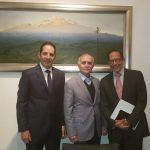 Reunión del Gobernador con Alfonso Romo. Se busca la pacificación nacional