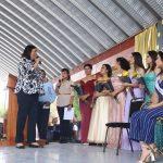 Llama Elvia Montes a estudiantes a ser libres de drogas y violencia
