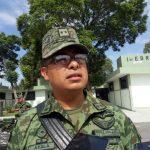 Preparado el Ejército para la temporada de lluvias