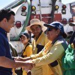 Encabeza Luis Nava jornada de recolección de tiliches y reforestación en Hacienda Santa Rosa