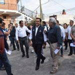 Supervisa Luis Nava avances de obra en Vista Alegre 3ra. Sección
