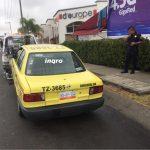 Tras persecución recuperan en Juriquilla un taxi