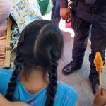 Policías de El Marqués localizan a menor que se había extraviado