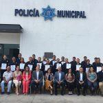 Policías de El Marqués son reconocidos por su capacitación extracurricular