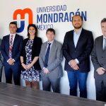 UMx firma un convenio con empresa vasca, Inkor