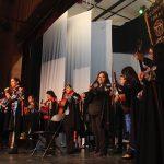 Realizan recital, estudiantes de la Academia Musical de la Estudiantina Femenil UAQ