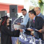 Acude Roberto Sosa a graduación del COBAQ 19 en Bravo