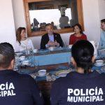 Personal policial de la #SSPMQ es reconocido por colonos de Loma Dorada