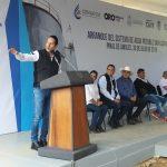 Gobernador entrega sistema de agua potable en Pinal de Amoles