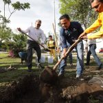 Encabeza Luis Nava jornada de reforestación