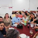 Encabeza Elvia Montes festejo a secretarias  municipales
