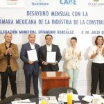 Firman el Municipio de Querétaro y la CMIC convenio en favor del DIF Municipal