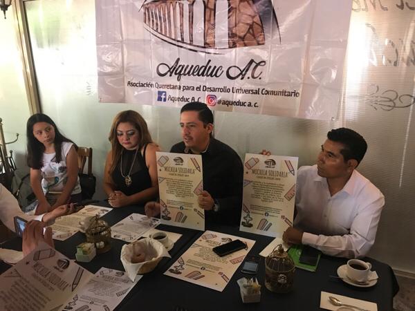 AUDIO: Presentan Mochila Solidaria