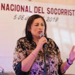 Reconoce Elvia Montes labor de socorristas de Protección Civil