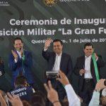 """Inauguran Expo """"Fuerzas Armadas, la Gran Fuerza de México"""""""