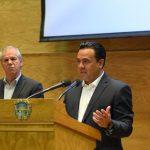 Luis Nava participa en la sesión de pleno del Consejo Nacional de Seguridad Pública