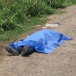 Muere en la Carretera Estatal 100 por infarto