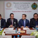 Coordina el gobernador de Querétaro acciones a favor del desarrollo de México