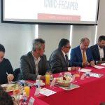 Firman CMIC y FECAPEQ Convenio de Colaboración en el ramo de la construcción