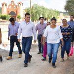 MÁS DE4MDP EN REHABILITACIÓN DE CALLES EN FUENTEZUELAS: TOÑO MEJÍA LIRA