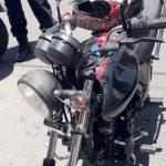 Un auto y una moto que acababan de ser robados fueron recuperados