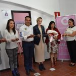 Inauguraron Luis Nava y Arahí Dominguez la 8va Sala de Lactancia