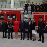 Anuncia Luis Nava nueva estación de bomberos
