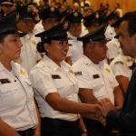 Reconoce Luis Nava a 80 elementos de Seguridad Pública Municipal