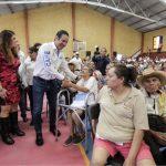 AUDIO-Anuncia el Gobernador acciones sociales por más de 26.5 mdp en Arroyo Seco
