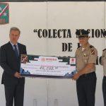 ENTREGA LA 17/a. ZONA MILITAR DONATIVOS A LA CRUZ ROJA