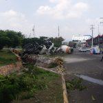Video: Vuelca Revolvedora en Avenida del Parque